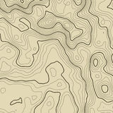 Topographic map background concept with space for your copy. Topography lines art contour , mountain hiking trail Royalty Free Stock Photo