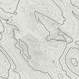 Topographic map background concept with space for your copy. Topography lines art contour , mountain hiking trail Royalty Free Stock Photos