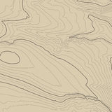 Topographic map background concept with space for your copy. Topography lines art contour , mountain hiking trail Stock Photo