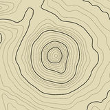 Topographic map background concept with space for your copy. Topography lines art contour , mountain hiking trail. Shape vector design Royalty Free Stock Photo