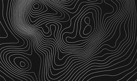 Topographic map background with space for copy . Line topography map contour background , geographic grid abstract Royalty Free Stock Image