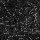 Topographic map background with space for copy . Line topography map contour background , geographic grid abstract Stock Images