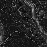 Topographic map background with space for copy . Line topography map contour background , geographic grid abstract Stock Photo