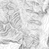 Topographic map background with space for copy . Line topography map contour background , geographic grid abstract Stock Photography
