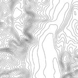 Topographic map background with space for copy . Line topography map contour background , geographic grid abstract Royalty Free Stock Photography