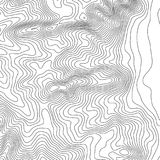 Topographic map background with space for copy . Line topography map contour background , geographic grid abstract Stock Photos