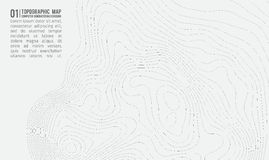 Free Topographic Map Background With Space For Copy . Line Topography Map Contour Background , Geographic Grid Abstract Royalty Free Stock Images - 91185889