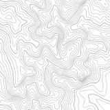 Topographic map lines background. Vector illustration. Topographic map lines background. Abstract vector illustration royalty free illustration