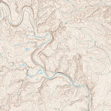 Topographic Map Royalty Free Stock Photos