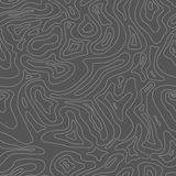 Topographic Map Seamless Pattern. Background Stock Images