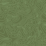 Topographic Map Seamless Pattern. Vector Stock Photo