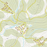 Topographic map Royalty Free Stock Photography