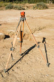 Topographic measuring instrument Stock Images