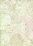 Topographical Map Background Stock Photography