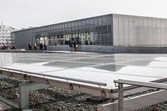 Topographie de musée de terreur, Berlin, Allemagne photographie stock