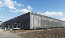 Topographie de musée de terreur à Berlin, Allemagne image libre de droits