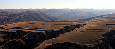 Topography Loess Plateau Royalty Free Stock Image