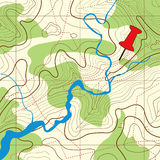 Topography map Background Royalty Free Stock Photography