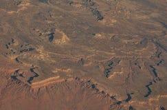 Topography--Southwest U.S. Royalty Free Stock Image