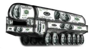Topol-M fez dos dólares Fotos de Stock Royalty Free