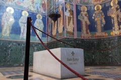TOPOLA, SERBIE, - août 2017 : Roi serbe de Karadjordjevic Photos stock