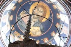 TOPOLA, SERBIE, - août 2017 : Roi serbe de Karadjordjevic Photographie stock libre de droits