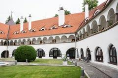 Topolcianky castle Stock Photos