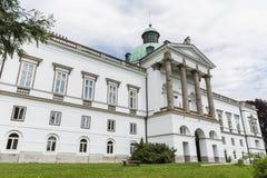Topolcianky manor house . Stock Photos