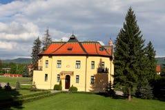 Topolcianky - nice castle Stock Image