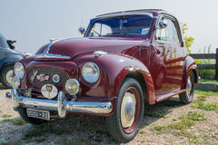 Topolino car. Old model of fiat topolino car Stock Photography