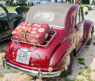 Topolino car. VERONA, ITALY - SEPTEMBER 27: Topolino car. Topolino Autoclub Italia organizes a gathering on Lake Garda Sunday, September 27, 2014. Cars and Stock Images