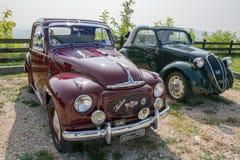 Topolino cars. Italian style in the world Stock Photo