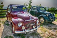 Topolino cars. Italian symbol in the world Stock Images