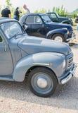Topolino cars. VERONA, ITALY - SEPTEMBER 27: Topolino cars. Topolino Autoclub Italia organizes a gathering on Lake Garda Sunday, September 27, 2014. Cars and Royalty Free Stock Photos