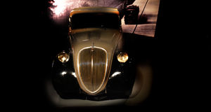 Topolino Vintage car. Vintage car of museum car Turin Stock Photography