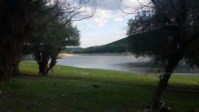 Topolnica湖, Poibrene 库存照片