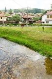 Topolnitsa River in Koprivshtitsa, Bulgaria Royalty Free Stock Photos