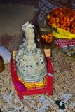 topor del bengalese & x28 tradizionali; costume & x29; per nozze del bengalese fotografie stock