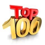 Topp 100 utmärkelse Royaltyfria Foton