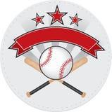 Toppa di baseball Immagine Stock