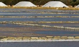 Toppe del sale dell'acqua Immagini Stock