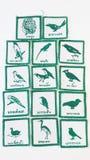 Toppe dell'uccello Fotografia Stock