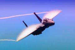 Toppen bålgeting för marin F-18 Arkivbilder