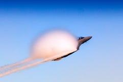 Toppen bålgeting för marin F-18 Arkivfoton