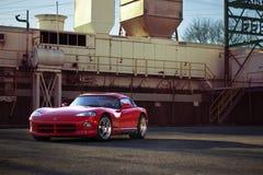 Toppen bil för Dodge huggorm RT10 Arkivbilder