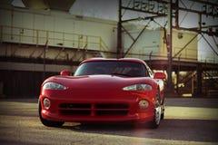 Toppen bil för Dodge huggorm RT10 Arkivfoto