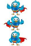 Toppen blåttfågel - uppsättning 2 Royaltyfria Bilder