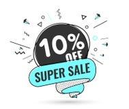 Toppen försäljning, specialt erbjudande för helg royaltyfri illustrationer