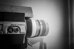 Toppen filmkamera 8 Arkivfoto