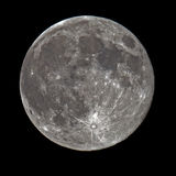 Toppen fullmåne Arkivbild